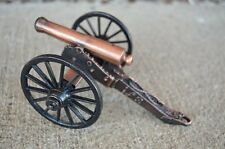 Civil War Napoleon Cannon Artillery Bronze Barrel Toy Soldier Union