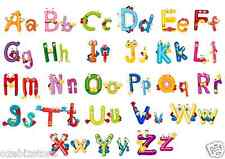 A-Z Animal Alphabet Letters Removable Wall Sticker Kids Boy Girl Decor Nursery