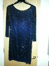 TK Maxx Ladies Sequin Dress Size 16 BNWT