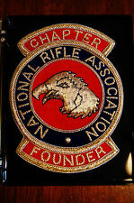 NRA Chapter Founder Badge by Gold Crest Made from Gold and Silver Bullion Vntg