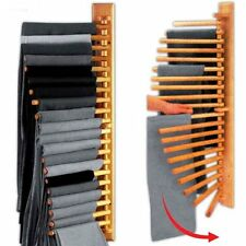 Wooden Rotating Trouser Hanger Rack 20 pair Bedroom Furniture Wardrobe New0.15cm