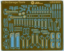 Alliance Model Works 1:24 Scale Mechanic Tools Connectionless Photoetch LW24001