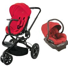 Quinny Moodd Travel System in Red Includes Stroller & Mico 30 Car Seat New!!