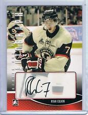 2012-13 RYAN CULKIN ITG HEROES & PROSPECTS AUTOGRAPH #A-RC QUEBEC