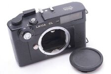 WORKS 100%*   LEICA M CL RANGEFINDER 35MM CAMERA BODY W/ CAP.