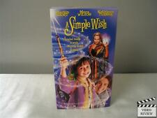 A Simple Wish (VHS, 1997) Martin Short Mara Wilson Kathleen Turner