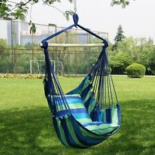 Garden Hanging Seat Tree Hammock Camp Porch Swing Chair Camping Patio Outdoor