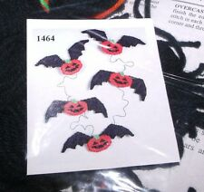 Design Works PUMPKIN BATS GARLAND Plastic Canvas Kit