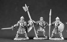 Men At Arms Reaper Miniatures Dark Heaven Legends Fighter Warrior Paladin Melee