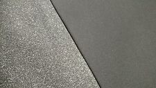 """MED GRAY AUTOMOTIVE UPHOLSTERY HEADLINER FABRIC 3/16"""" FOAM BACKING 60""""WIDE BTY"""