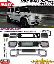 02-16 MERCEDES AMG STYLE W463 G63 FRONT BUMPER COVER G55 G63 G550 G500 BODY KIT