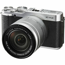Fujifilm X-A2 Mirrorless Digital Camera with 16-50mm Lens - Silver