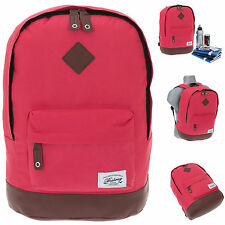 Rucksack BESTWAY Rocky MOUNTAIN Vintage Schulrucksack Daypack Bag RASPBE 5100 +f
