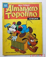 ALBI D'ORO Almanacco Topolino N 6 giugno 1960 MONDADORI Walt Disney