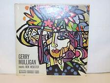GERRY MULLIGAN - Meets Ben Webster ~ VERVE 8343 {dg} w/Rowles, Vinnegar - RARE