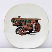 Vintage broche plateau victoire locomotive showmans engine kirmes