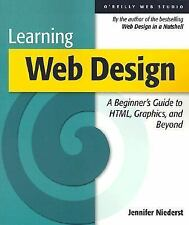 Learning Web Design : A Beginner's Guide to HTML, Graphics, and Beyond-ExLibrary