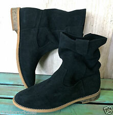 Free People Jeffrey Campbell black suede Youngers Boots 37/ 6.5-7 $190 Store Dis