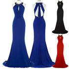 Sexy Women Long Bridesmaid Party Prom Cocktail Dress Formal Evening Ball Gown