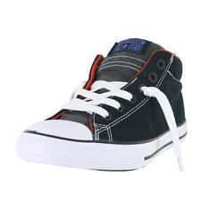 Converse K All Star Street Mid 654252F Black Red White Kids US size 2, EURO 33.5
