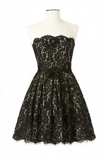 NEW Robert Rodriguez Black Lace Strapless Dress-12-Neiman Marcus-PROM/Wedding!!