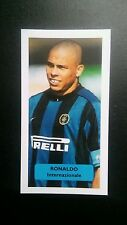 BRAZIL - INTER - RONALDO Score UK football trade card