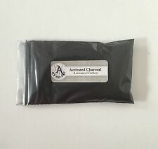 1 oz. Activated Charcoal Powder (Activated Carbon)  28 g / .063 lb  Food Grade