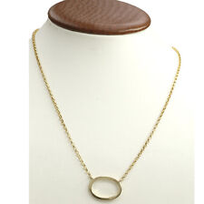 18k Yellow Gold Authentic Gucci Pendant Necklace