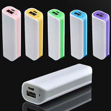 NEW 2600mAh USB Portable External Backup Battery Charger Power Bank for Phone