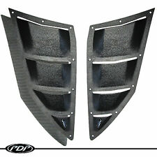 2012+ ARCTIC CAT PROCLIMB M8 M1100 Snowmobile PDP Premium Upper Vent Kit: Black