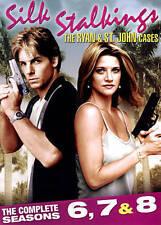 Silk Stalkings: The Ryan  St. John Cases - The Complete Seasons 6, 7  8 (DVD, 20