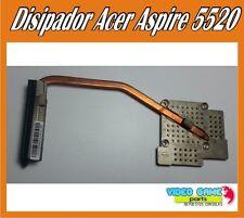 Disipador Acer Aspire 5520 Heatsink FJK-C-27070626 / FJK-C-27072684