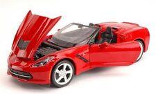 Maisto 2014 Corvette Stingray Convertible Cabrio rot, 1:24