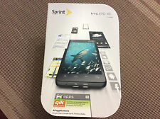 HTC EVO 4G Sprint Android Smartphone Black - NEW - No Contract