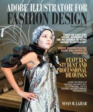 Adobe Illustrator for Fashion Design (2nd Edition) by Lazear FREE SHIPPING - NEW