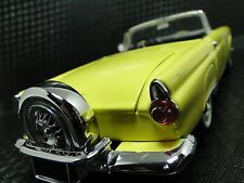 Ford Thunderbird Tbird 1950s GT Car 1 24 Exotic Classic Carousel Yellow Model 18