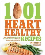 1,001 Heart Healthy Recipes: Quick, Delicious Recipes High in Fiber and Low...