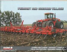 Farm Implement Brochure - Case IH - Primary Seedbed Tillage - 1996 (F2095)