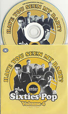 Have You Seen My Baby? Ember 60s Pop Vol.4 UK 25-trk promo test CD Chad & Jeremy