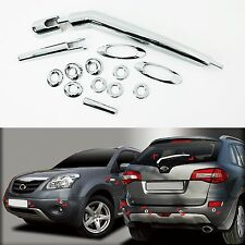 Chrome Exterior Molding Kit Trim Cover for 09+ Renault Koleos QM5