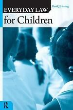 EVERDAY LAW FOR CHILDREN (Q) (Everyday Law) Herring, David J. Paperback