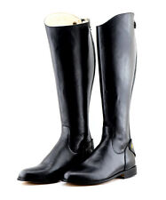Mux Leather Tall Handmade Dressage Equestrian Horse Riding Boot UK 5-12