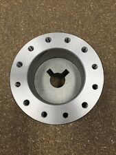 "New Aluminum Boat Steering Wheel Hub~for 3/4"" Keyed & Tapered Shaft~Genmar"