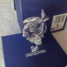 SWAROVSKI Crystal Figurine SCS 2007 BLUE TANG FISH (Clear version)