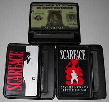 Scarface 70mm Metal Cigarette Rolling Machine (Choose Design), BRAND NEW