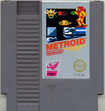 METROID ORIGINAL GREY NINTENDO GAME SYSTEM NES HQ