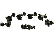 Kluson Revolution Tuners for Fender Black KFT-3805BL