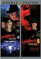 NEW A Nightmare on Elm Street 3: Dream Warriors / Dream Master 3 And 4 DVD