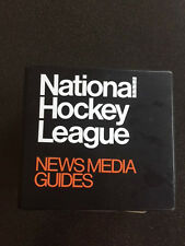 1984 - 1985 National Hockey League NHL Media Guide(s) and Binder
