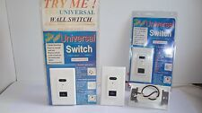 3 pieces Smart Wall Switch: Remote control, Touchless & Timer